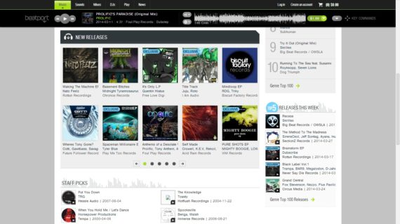 Prolific Beatport feature