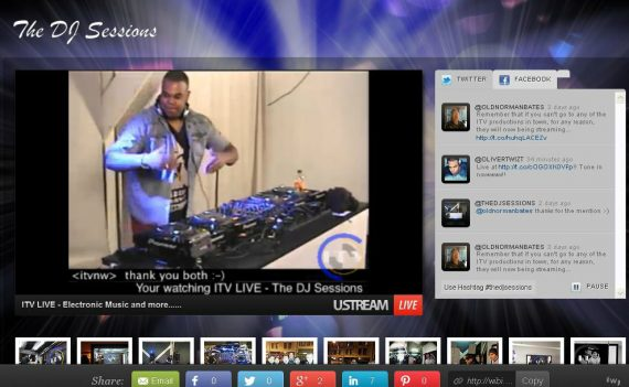 OLIVER TWIZT spins LIVE on THE DJ SESSIONS
