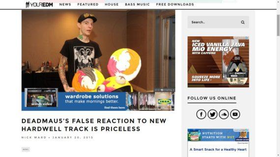 Deadmau5 satire video receives coverage on Your EDM