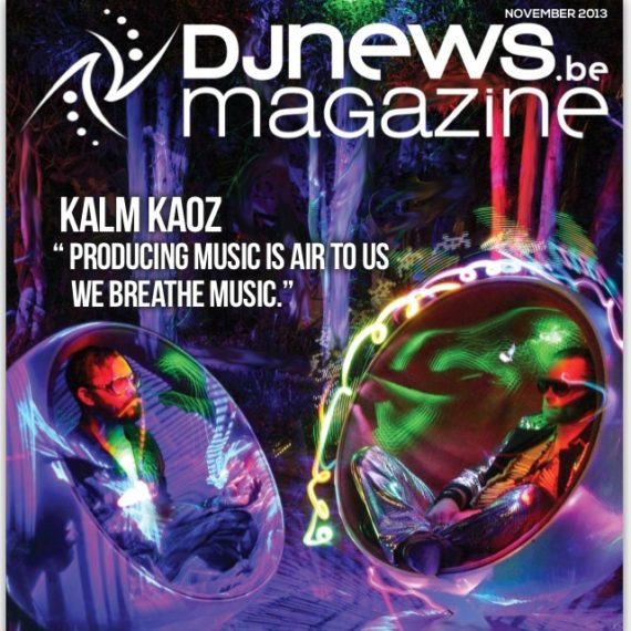 KALM KAOZ front page on DJ News Magazine