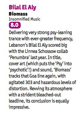 Bilal El Aly gets an 8.0 from DJ MAG!