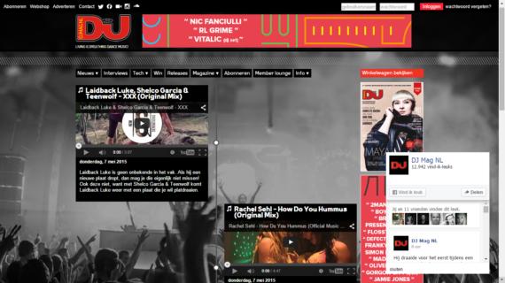 Rachel Sehl featured in DJ Mag