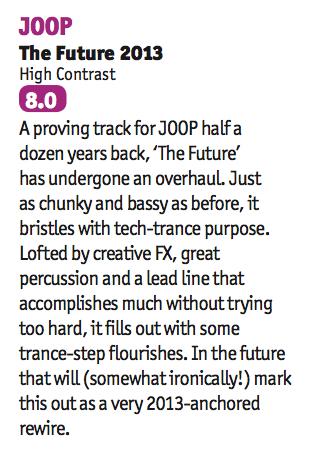 JOOP receives an 8.0 from DJ Mag